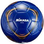 サッカーボール 5号 レジャー用 ブルー 1球