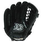 軟式野球グローブ一般用 左利き用 ブラック 12インチ