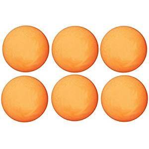 (まとめ)卓球ボール 6P 40mm オレンジ【×2個セット】 - 拡大画像