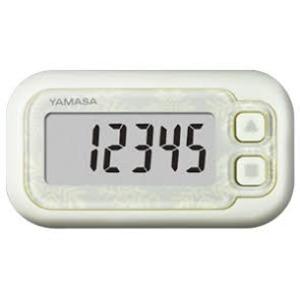 YAMASA ポケット万歩 スノーホワイト EX-200W - 拡大画像