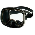 排水弁付き スイムマスク マスターDX YD128 日本製