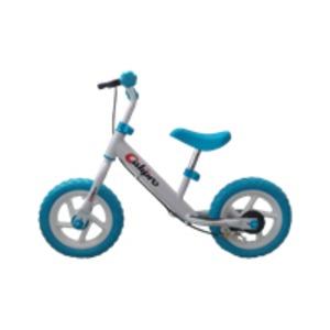 子供用 ウォーキングバイク 【12インチ ホワイト】 全長約88cm 重さ4kg ブレーキ付き ノーパンクタイヤ使用 スチール製 - 拡大画像