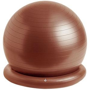 腰にイイス バランスボール 55cm ブラウン - 拡大画像