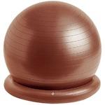 腰にイイス バランスボール 55cm ブラウン