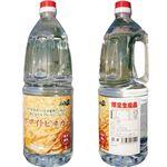 (まとめ)霧島黒酢の純国産ホワイトビネガー 1.8L【×2本セット】