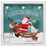 丸和貿易 アートパネル クリスマス LEDライトボード (S) C 400744203