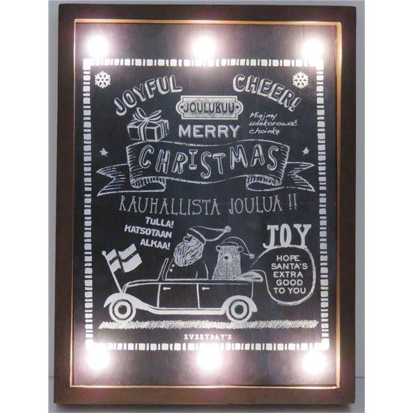 クリスマスパネル LEDライトボード