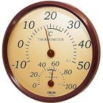クレセル 温湿度計 TR‐150BR
