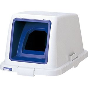 リス ゴミの種類別フタ W&W 分類ボックス70 70L用 ペットブルー 09622【本体別売り】 - 拡大画像