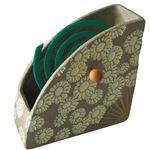 紀陽除虫菊 陶器製 蚊遣り器 扇子