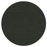 尺3丸マット ブラック格子 PVC