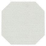 尺2隅切マット ホワイト格子 PVC