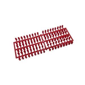 スキー板の穴埋めに P栓 赤 - 拡大画像