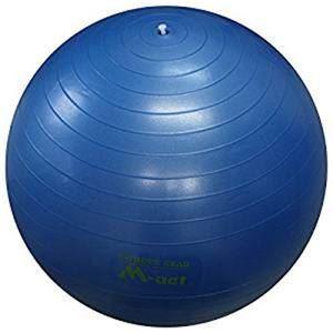 ストレッチボール65cm ブルー - 拡大画像