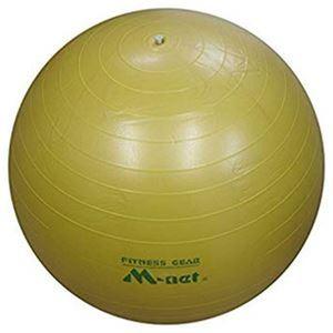ストレッチボール55cm イエロー - 拡大画像