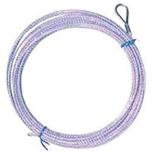 バレーネット(交換用)上部ロープ ステンレスワイヤー 6人制 - 拡大画像