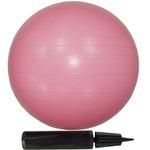 【10個セット】エクササイズボール 55cm ピンク