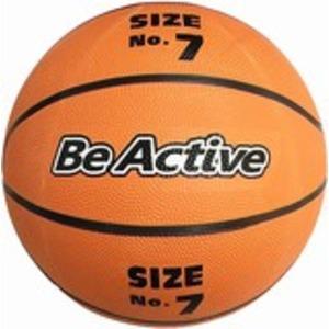バスケットボール 7号 ゴム 〔スポーツ用品 運動用品 スポーツ器具〕 - 拡大画像