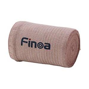 Finoaエラスチックバンデージ ひざ・太もも用 1箱(6個入り) 100mm×長さ4.5m - 拡大画像