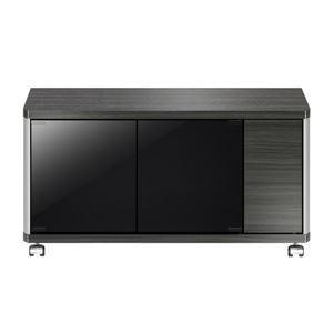 ローボード GDシリーズ 幅79.6×高さ41.8cm アッシュグレー 【組立品】 - 拡大画像