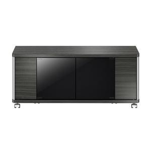 ローボード GDシリーズ 幅95.8×高さ41.8cm アッシュグレー 【組立品】 - 拡大画像
