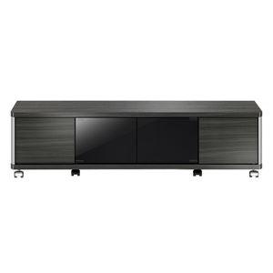 ローボード GDシリーズ 幅120×高さ31.8cm アッシュグレー 【組立品】 - 拡大画像