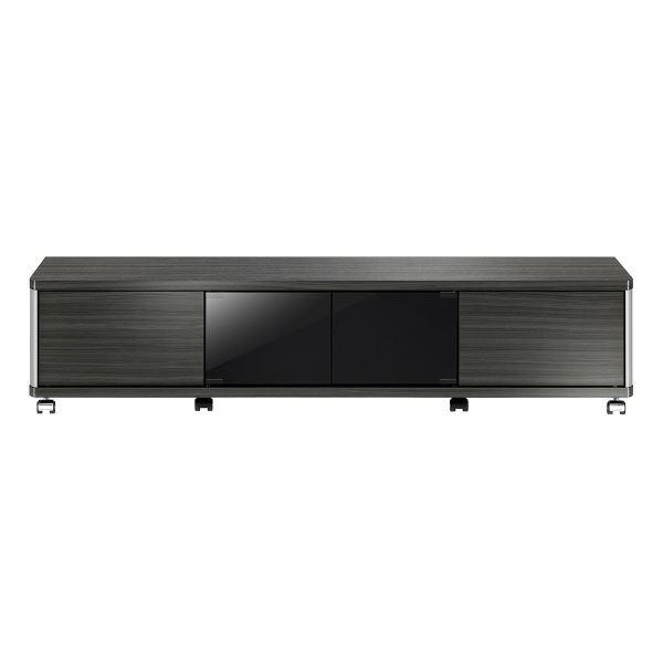 ローボード GDシリーズ 幅140×高さ31.8cm アッシュグレー 【組立品】