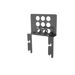 【壁寄せTV台 WS-B840用オプションパーツ】 HDDホルダー ブラック WS-B840HLD-B - 拡大画像