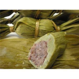 新潟名物伝統の味!笹団子 つぶあん15個 + こしあん15個 計30個セット - 拡大画像