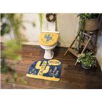 オカトー &Green トイレ2点セット(ふたカバー・マット) 洗浄・暖房用 CACTUS!