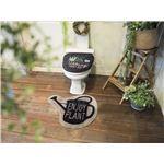オカトー &Green トイレ2点セット(ふたカバー・マット) 洗浄・暖房用 ENJOY PLANT