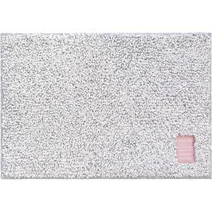(まとめ) オカトー Hitohira バスマット 35×50cm 雲(グレー) 【×2セット】 - 拡大画像
