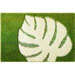 オカトー モンストルム 洗面マット 50×75cm グリーン