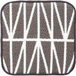 (まとめ) オカトー スパイスチェアパッド 角型35cm ブランチ 【×2セット】