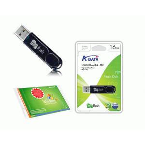 Windows XP HomeEdition SP2 OEM + USB2.0フラッシュメモリセット - 拡大画像