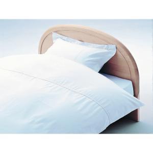 アーミッシュカラーベッド用BOXシーツ シングル ホワイト 100cm×200cm×27cm - 拡大画像