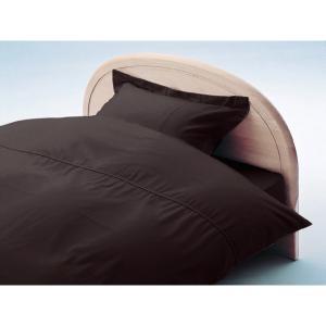 アーミッシュカラーベッド用BOXシーツ ダブル セピア 140cm×200cm×27cm - 拡大画像