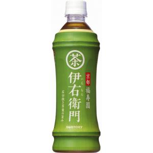 サントリー 緑茶 伊右衛門 ペット 500ml(×24) - 拡大画像