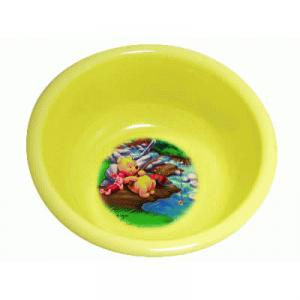 CPこども用湯おけ くまのプーさん イエロー - 拡大画像
