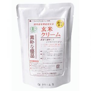 コジマフーズ 玄米クリーム 200g - 拡大画像