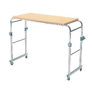 ベッドテーブル BT-301 ナチュラル/クロム - 拡大画像