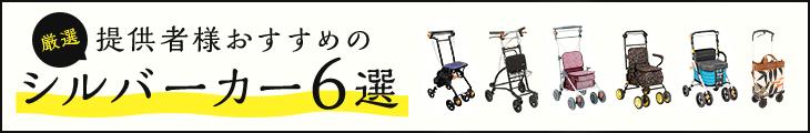 シルバーカー紹介ページ