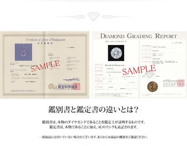 プラチナPt900  0.1ctダイヤモンドペンダント/ネックレス