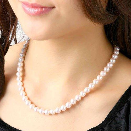 花珠真珠ネックレス