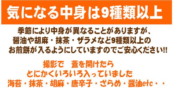 【訳あり】草加・おまかせ割れせんべい(煎餅) ...の説明画像2
