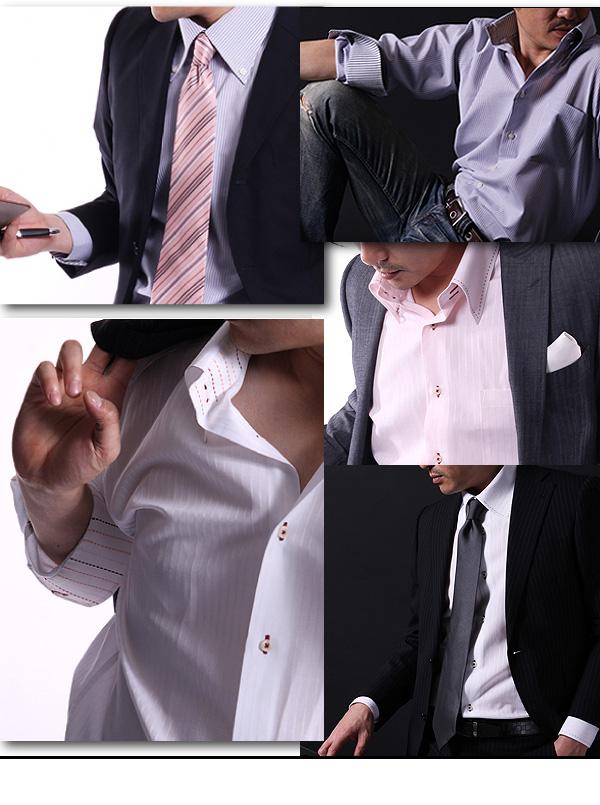 ワイシャツ14点セット S デザイナーズセレクト オールドゥエボットーニ【チラ見せ】シャツ 14点セット