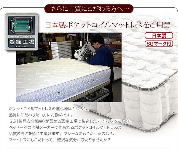 選べる収納ベッドのマットレス・ボンネルコイル・ポケットコイル・マルチラススーパースプリング