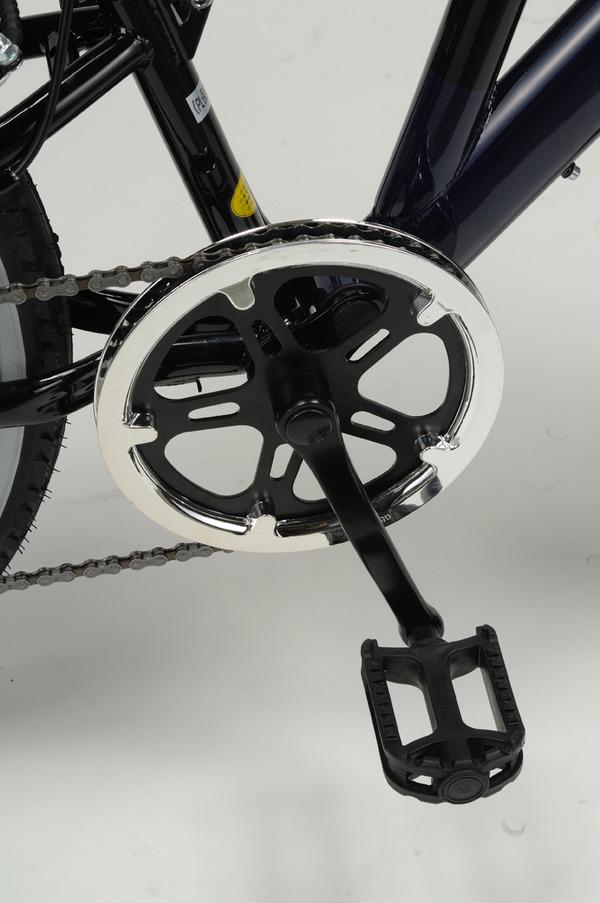MYPALLAS(マイパラス) 自転車 M-650-2 26インチ 6段変速 リアサス TypeII ホワイト 【クロスバイク】