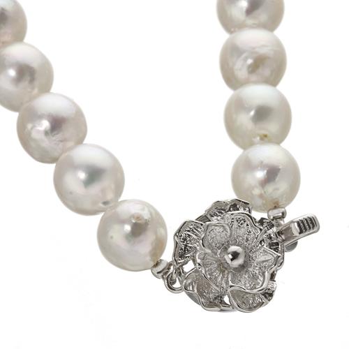 あこや真珠 8.5〜9mm珠 パールネックレス&パールイヤリング セット(鑑別カード付き)