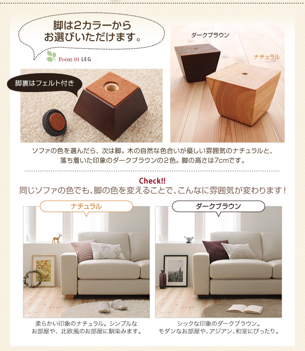 【カバー単品】ソファーカバー 2人掛け用【L...の説明画像18